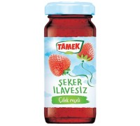 TAMEK SUGAR FEEE RECEL STRAWBERRY 290 GR
