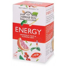 AHMAD TEA NATURAL ENERGY TEA 20TB