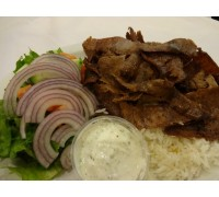 DONER GYRO WITH RICE 1 POR