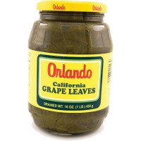 ORLANDO GRAPE LEAVES 16OZ GLASS