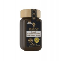 BEE YOUPROPOLIS HAZELNUT COCOA MILK RAW HONEY