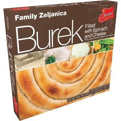 BUREK FILLED WITH CHEESE FAMILY SIRNICA