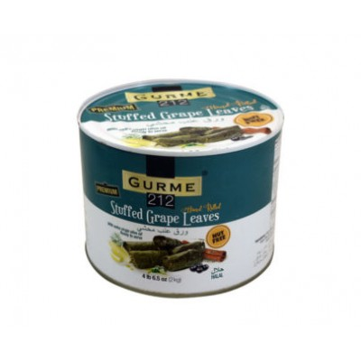 GURME 212 STUFFED GRAPE LEAVES 4IB