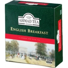 AHMAD TEA ENGLISH BREAKFAST 100 tagged