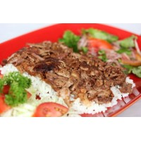TURKISH DONER GYRO RICE SALAD