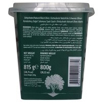 MBIRLIK NATURAL BLACK OLIVES 800GR S