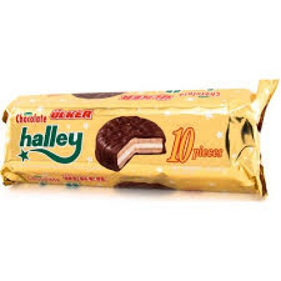 ULKER HALLEY 10 PC CHOCOLATE